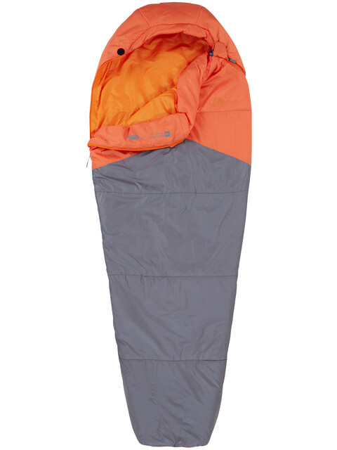 The North Face Aleutian 40/4 Sleeping Bag Regular Monarch Orange/Zinc Grey